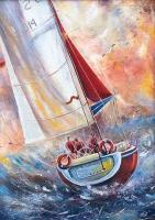 Teknede Üç Denizci - 61505