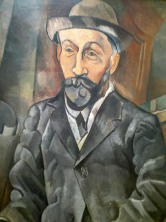 The art dealer Clovis Sagot resim