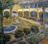 The Asylum Garden at Arles k0