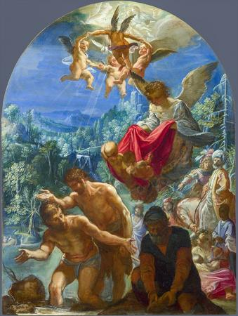 The Baptism of Christ resim
