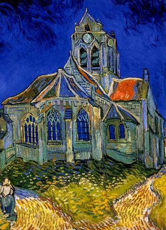 The Church at Auvers resim