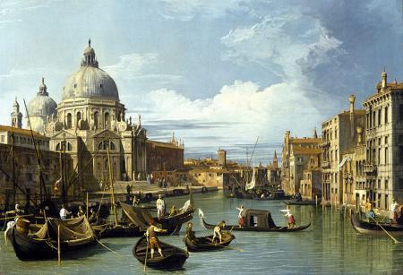 The Grand Canal Venice resim