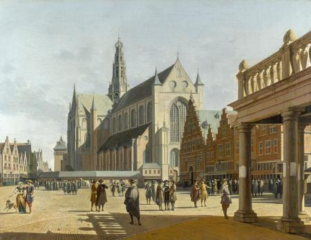 The Grote Markt resim