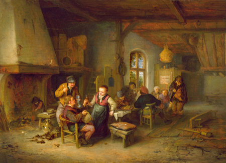 The Interior of an Inn 0