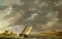 The Maas at Dordrecht in a Storm - UR-C-040