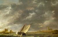 The Maas at Dordrecht in a Storm - UR-C-040