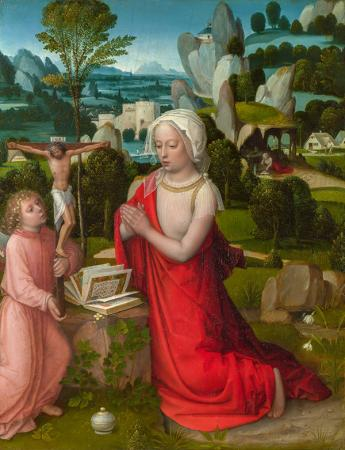 The Magdalen in a Landscape resim