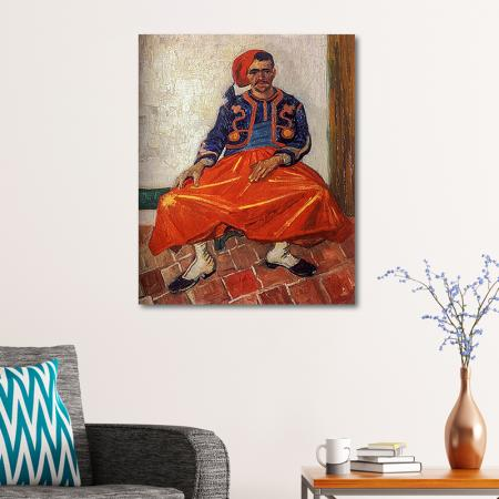 The Seated Zouave resim2