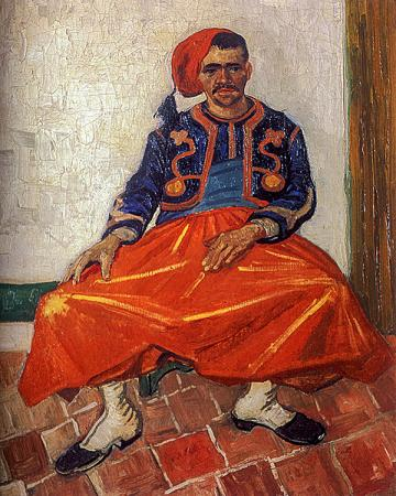 The Seated Zouave resim