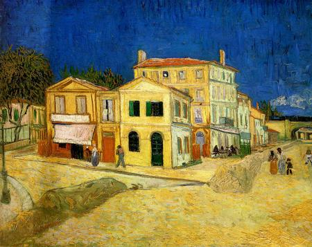 The Street, the Yellow House resim