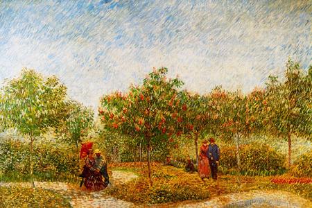 The Voyer d'Argenson Park in Asnieres 0