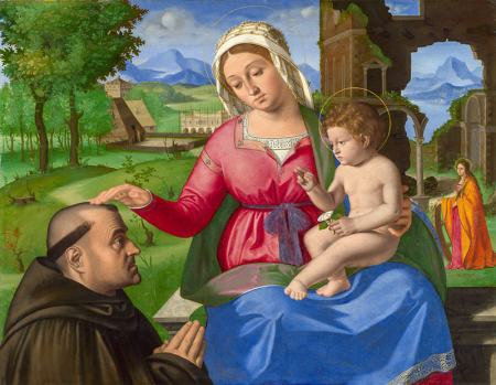 The Woman and Child with a Supplicant 0