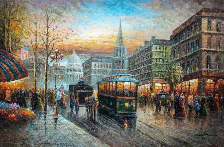 Tramvayla Şehir Turu resim
