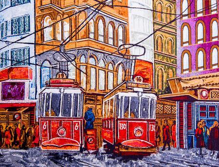 Tramvaylar resim