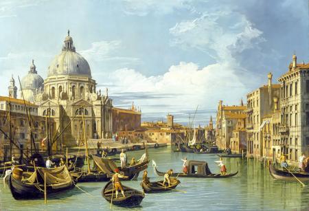 Venedik Büyük Kanal Girişimi  resim