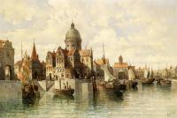 Venedik Su Şehir Surları  - SM-C-046