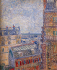 View of Paris from Vincent's Room in the Rue Lepic k0