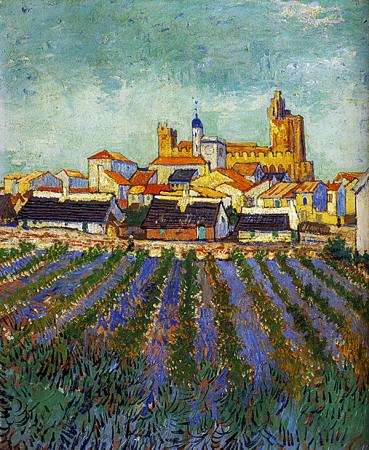 View of Saintes-Maries 0