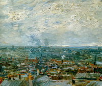View Of The Roofs Of Paris - UR-C-097