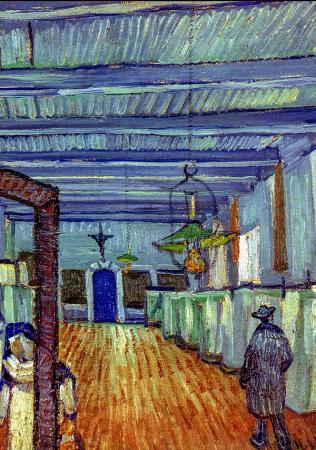 Ward at the Hospital in Arles resim