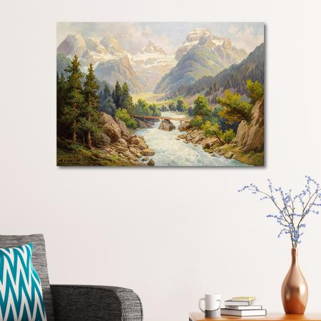 Alpler'de Nehir resim2