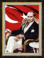 Atatürk Kahve İçerken - ATA03-Ç