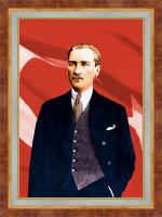 Ayakta Atatürk Portresi - ATA02-Ç