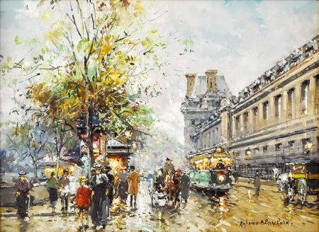 Boulevard de la Madeleine resim