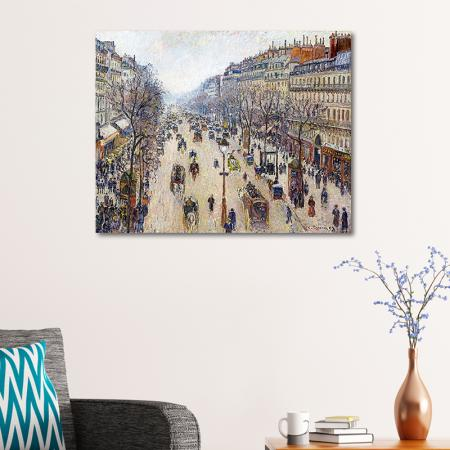 Boulevard de Montmartre, İlkbahar Sabahı resim2