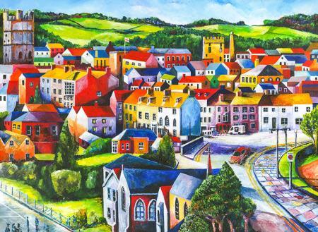 Colorful City resim