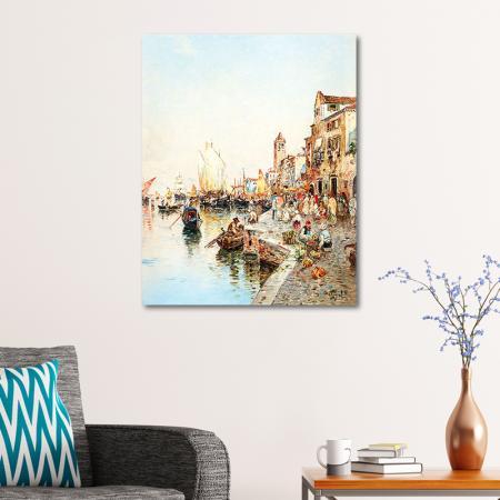 Deniz Kıyısı Manzara resim2