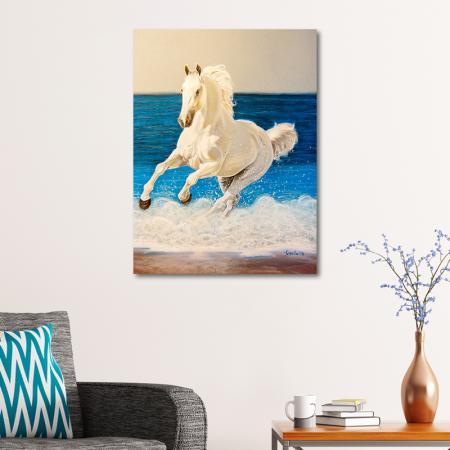 Denizde Koşan At resim2