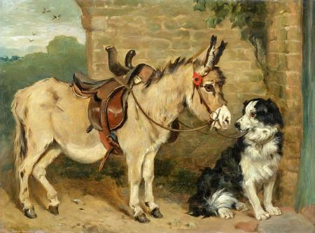 Eşek ve Köpek resim