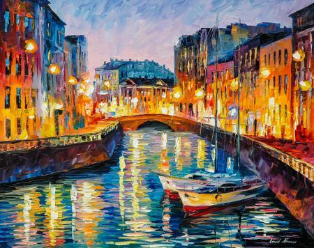 Evening River resim
