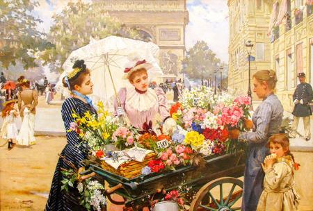 Flower Seller resim