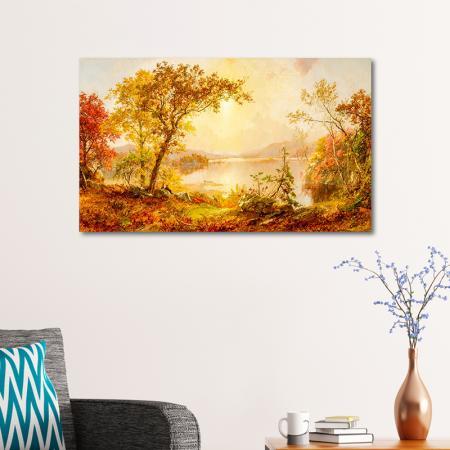 Greenwood Lake, Autumn on the Hudson  resim2