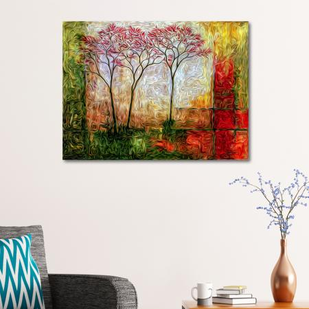 Kırmızı Ağaçlar resim2