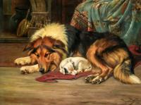 Köpek ve Yavrusu - HT-C-048