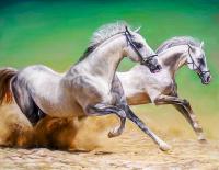 Kumda Koşan Atlar - HT-C-017