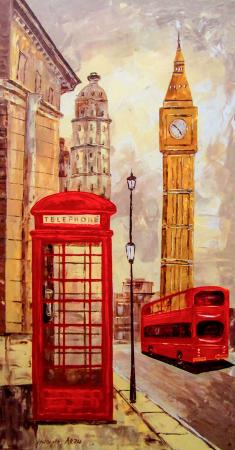 Londra Big Ben Saat Kulesi 0