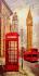 Londra Big Ben Saat Kulesi k0