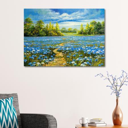 Mavi Çiçekler resim2
