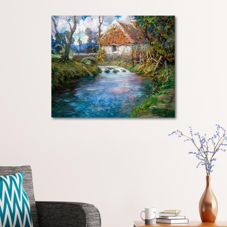 Nehirin Yanındaki Ev resim2