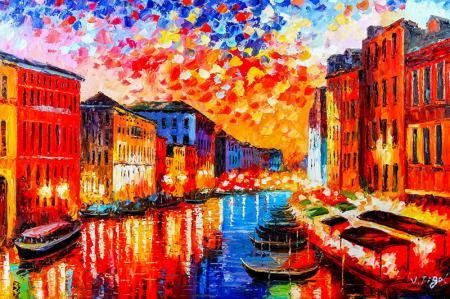 Night In Venice resim