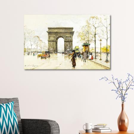 Paris Charles de Gaulle Meydanı ve Zafer Takı resim2