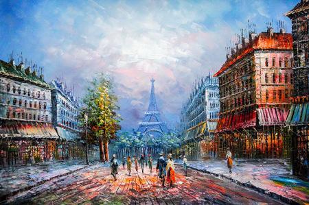 Paris Manzara resim