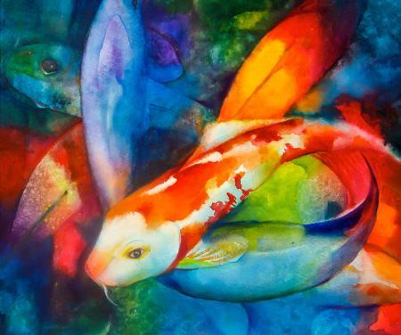 Renkli Balıklar resim