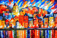 Renkli Şehir Manzarası - SM-C-149