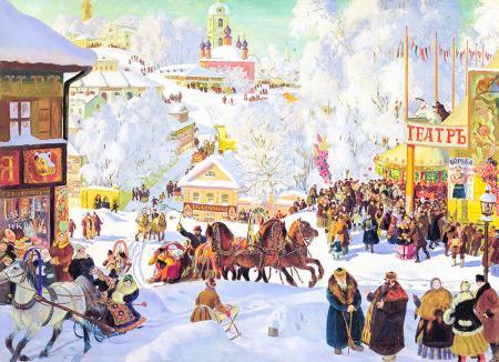 Rusyada Noel resim