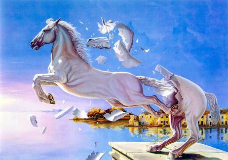 Sınırları Aşan At resim